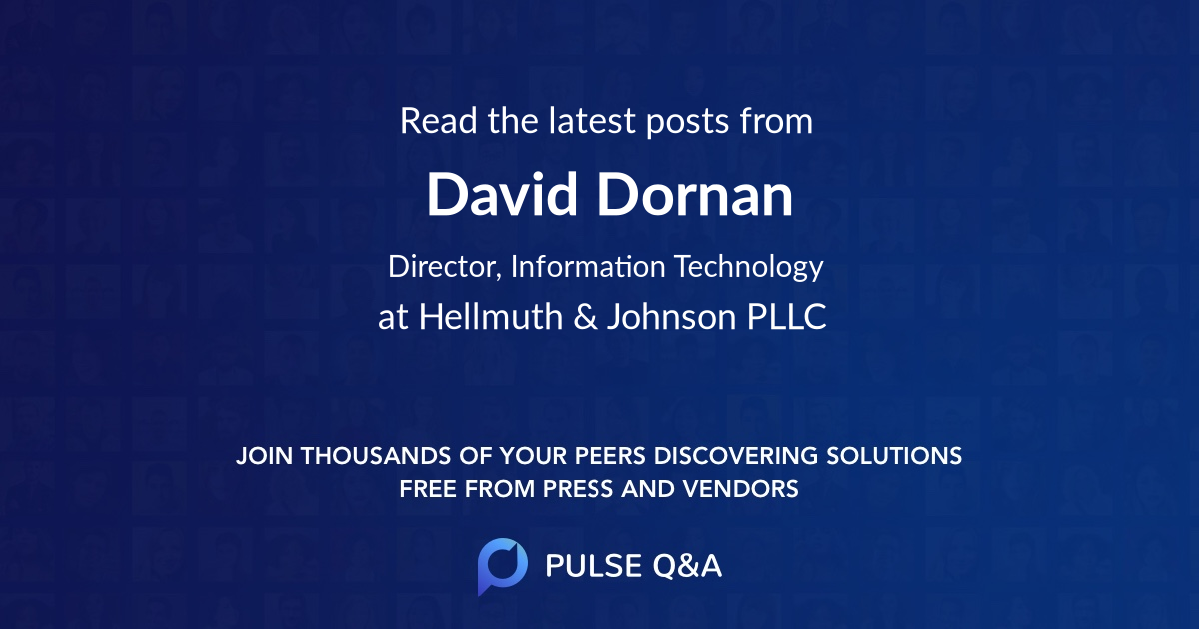David Dornan