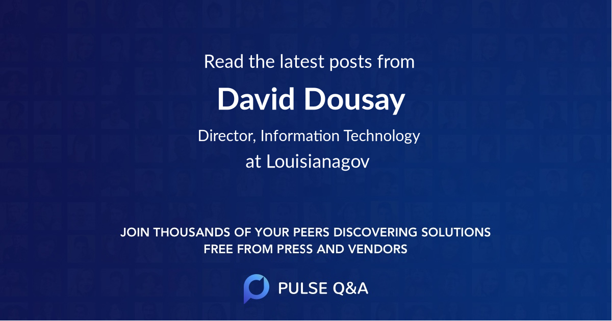David Dousay