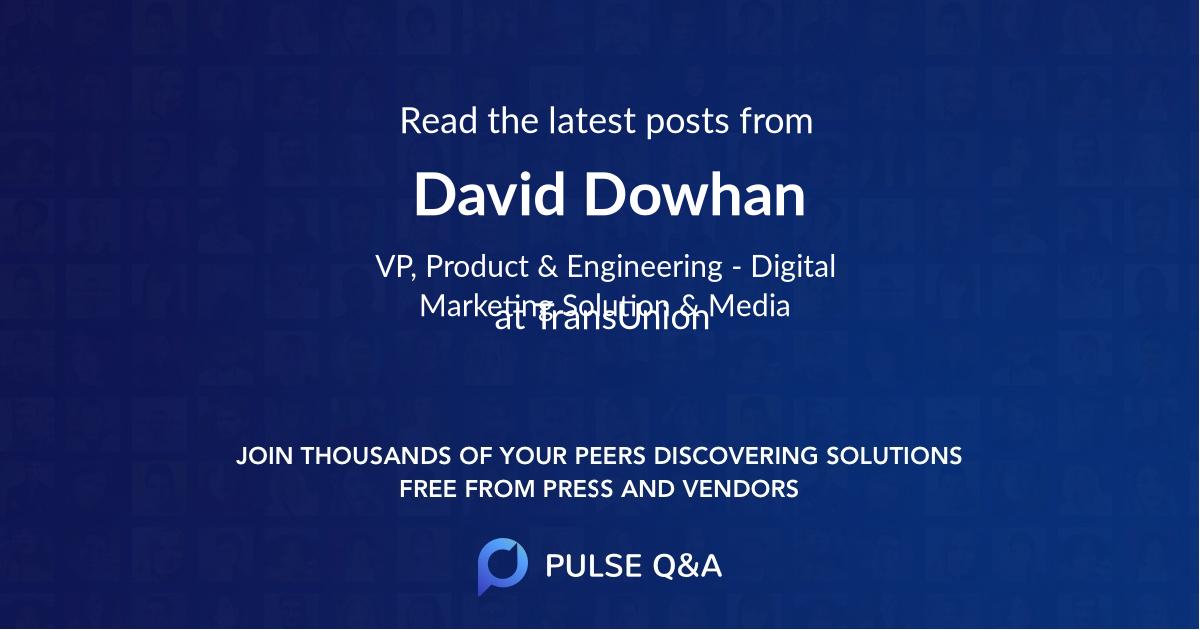 David Dowhan