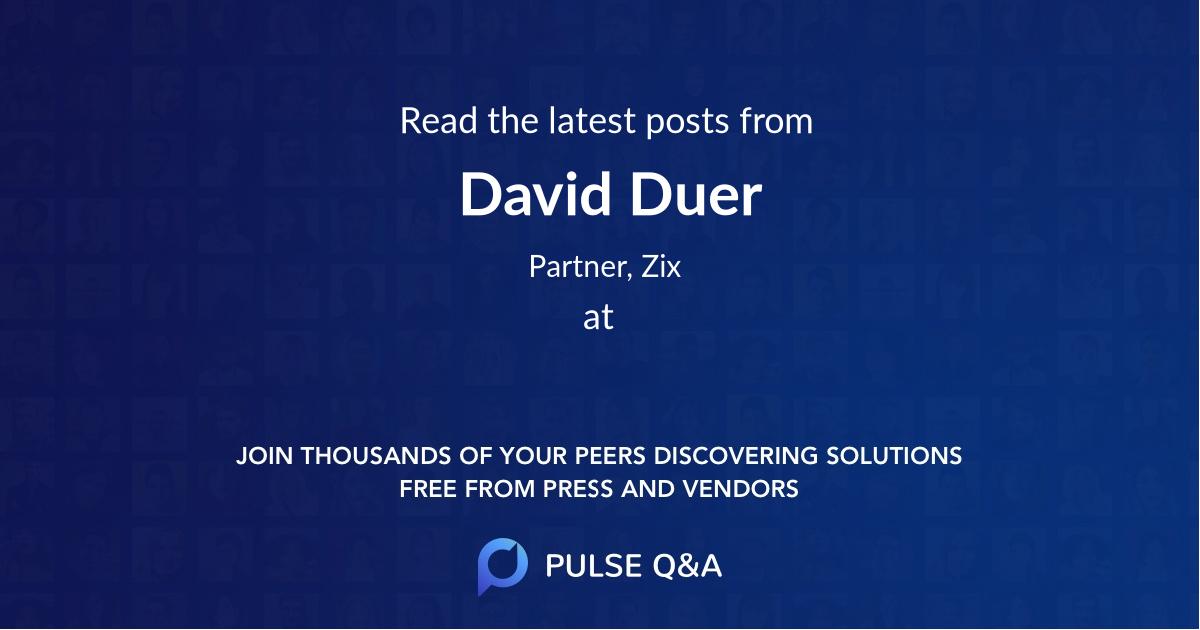 David Duer