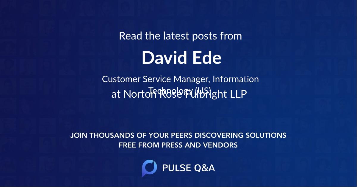 David Ede