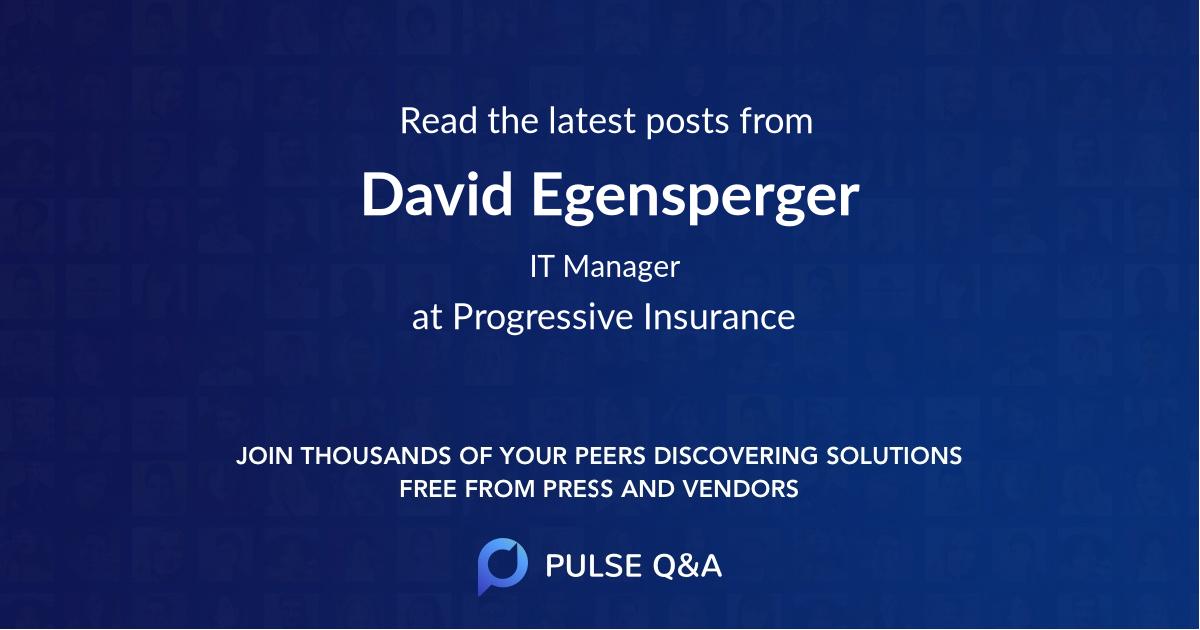 David Egensperger