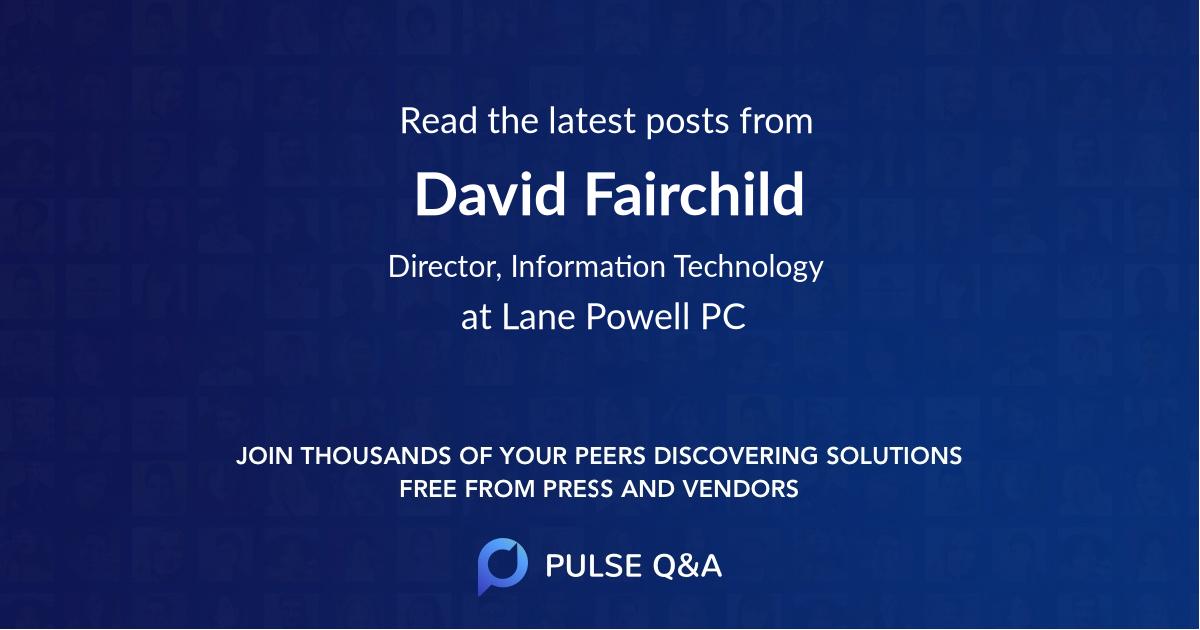 David Fairchild