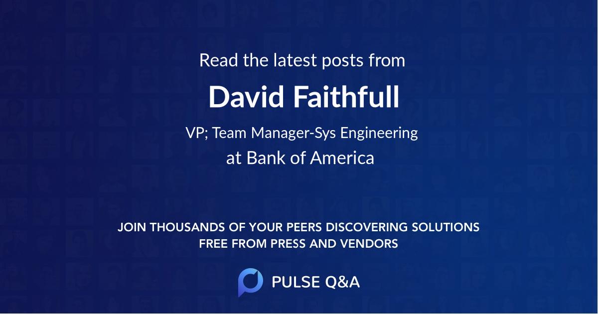 David Faithfull