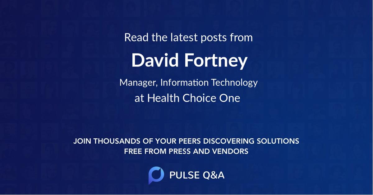 David Fortney
