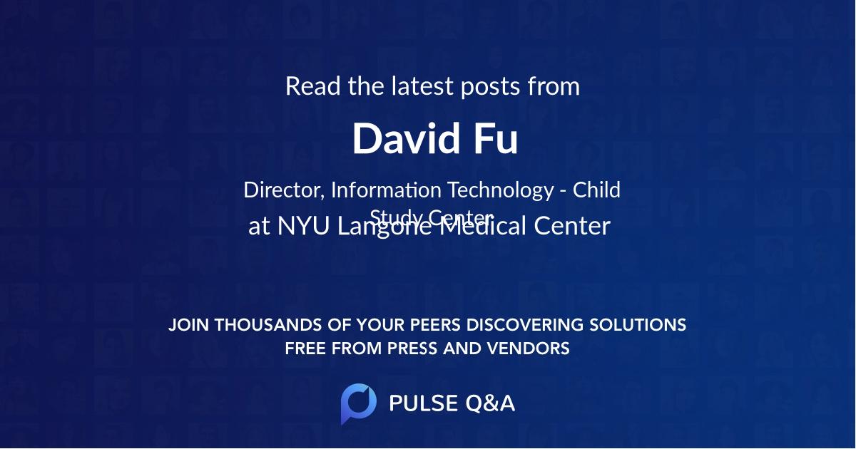 David Fu