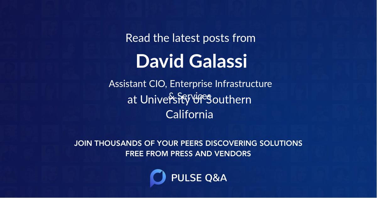 David Galassi