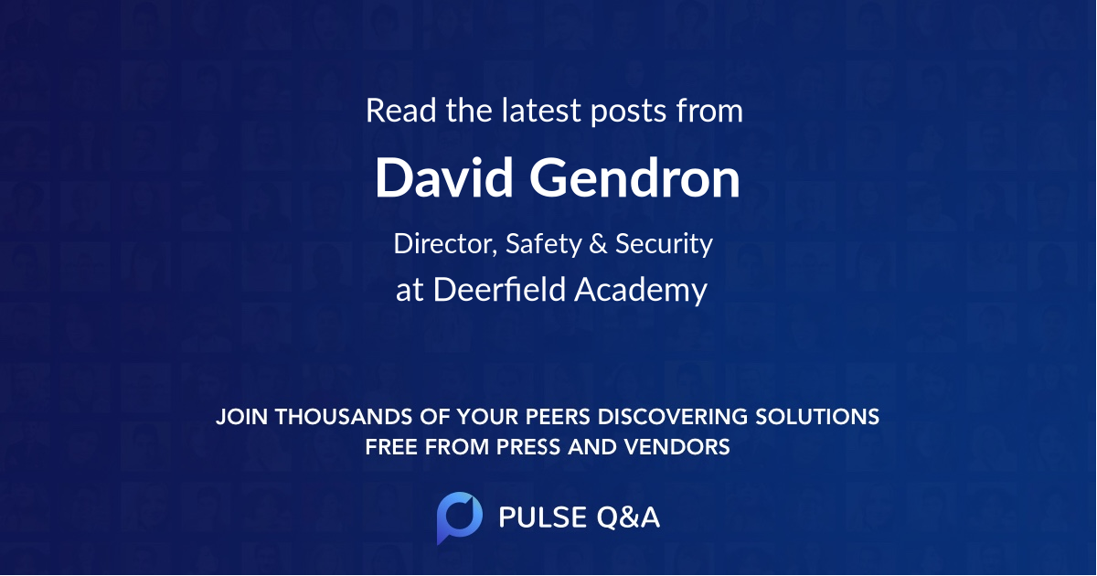 David Gendron
