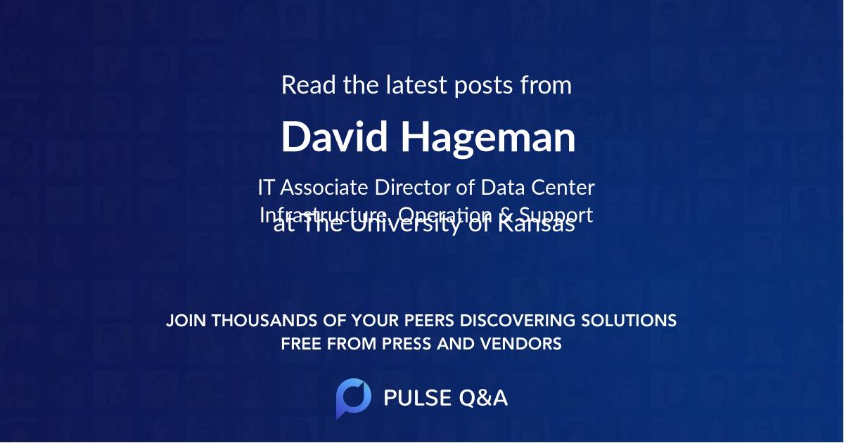 David Hageman