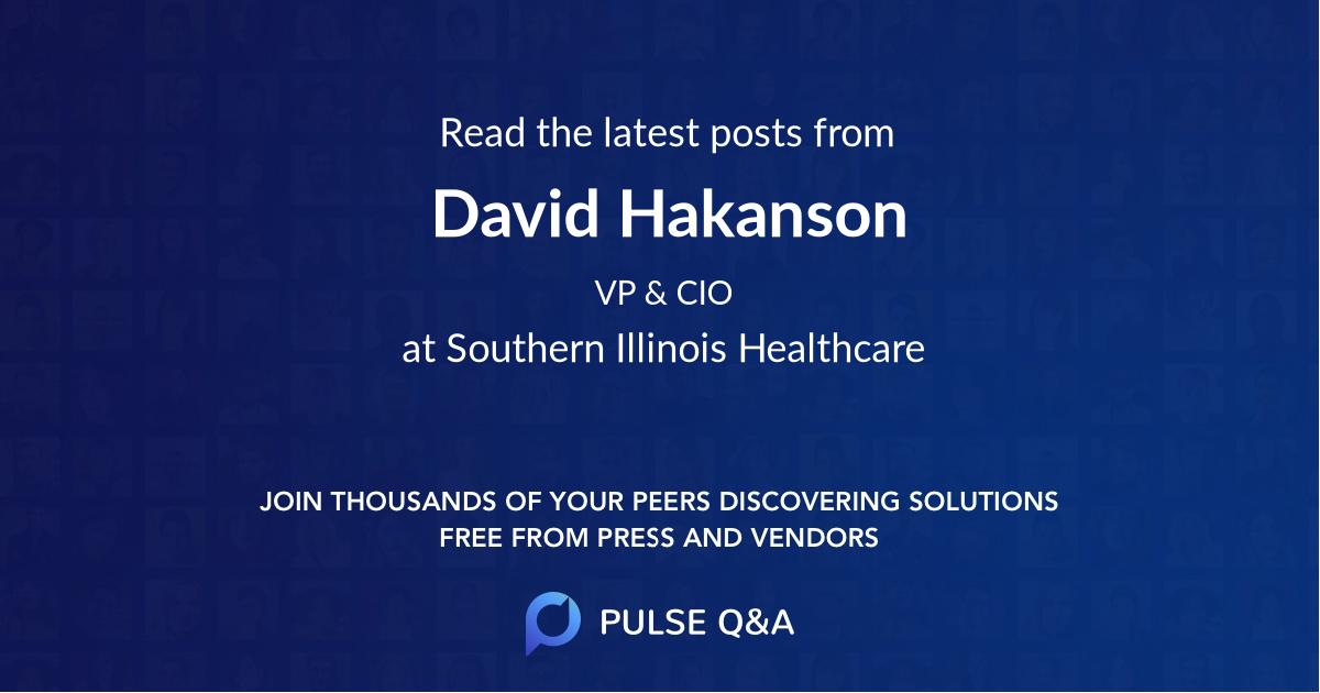 David Hakanson
