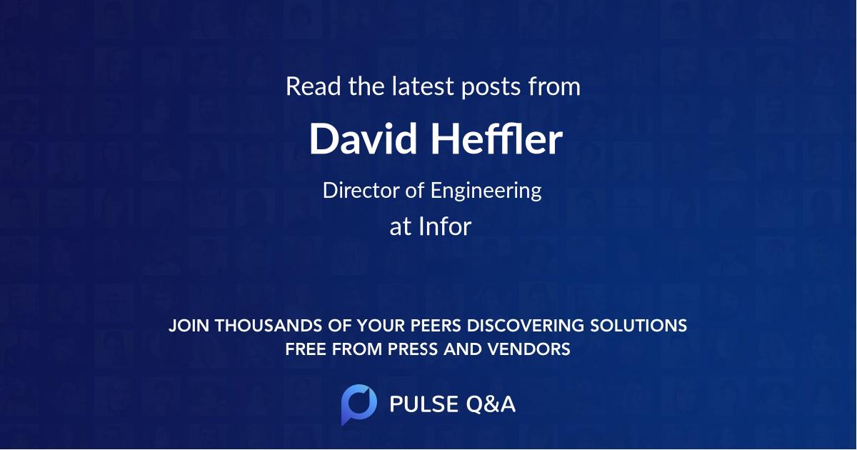 David Heffler