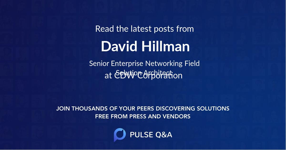 David Hillman