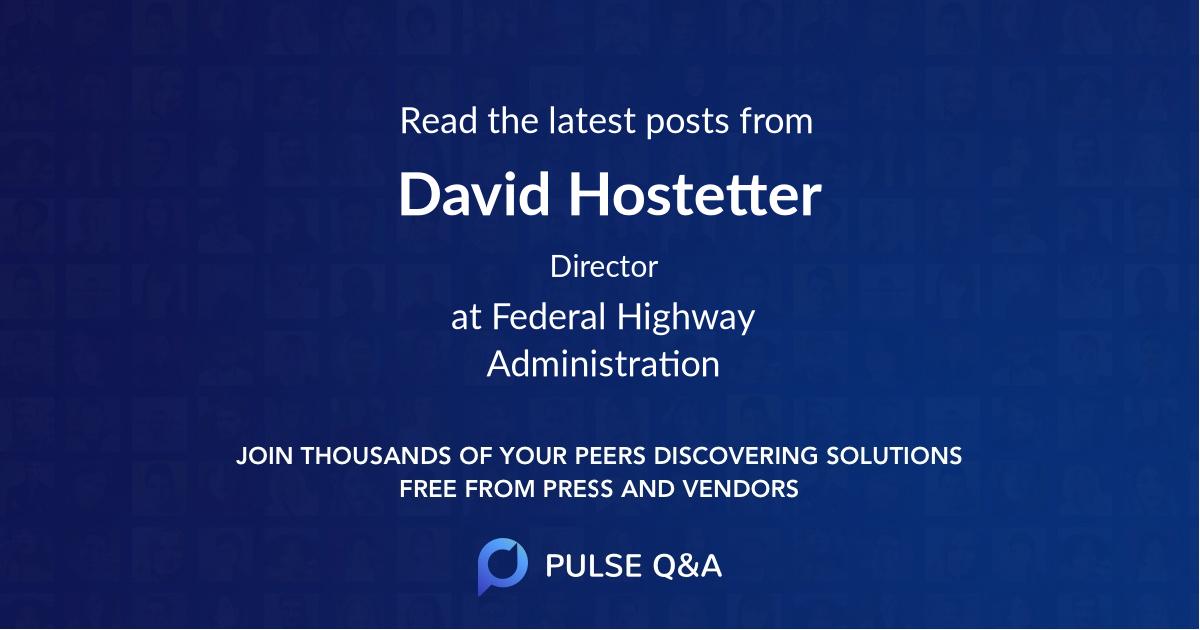David Hostetter