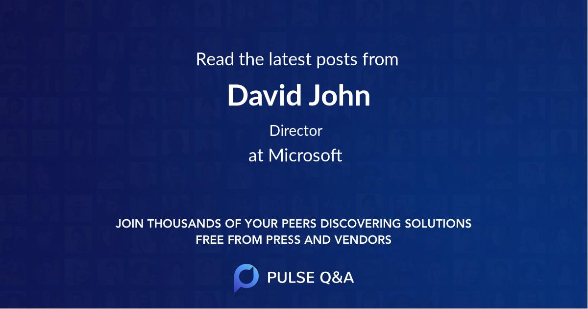 David John
