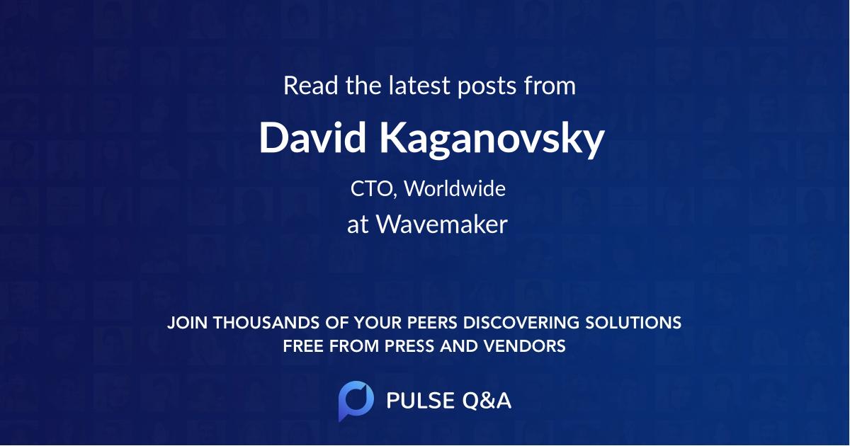 David Kaganovsky
