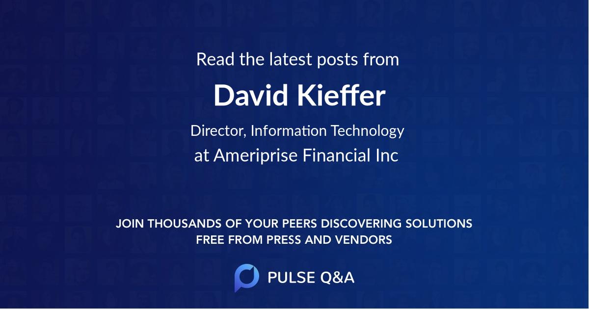 David Kieffer