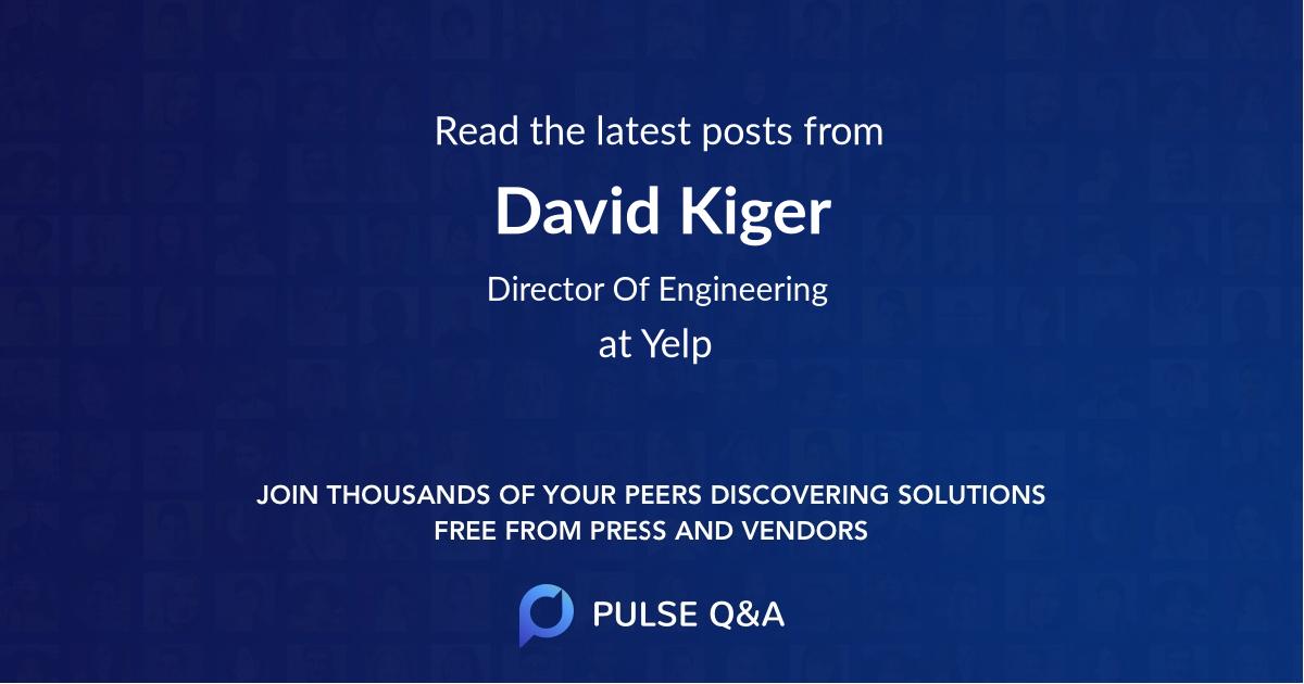 David Kiger
