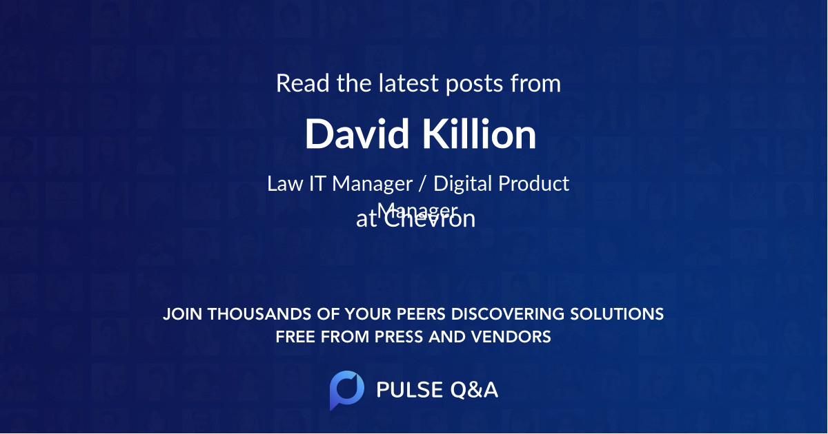 David Killion
