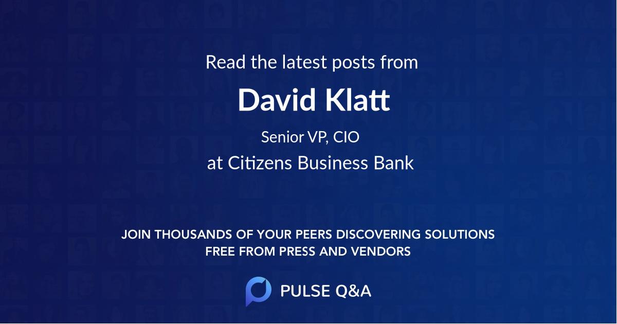 David Klatt