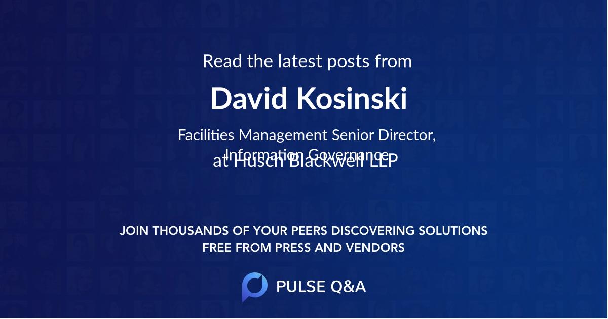 David Kosinski