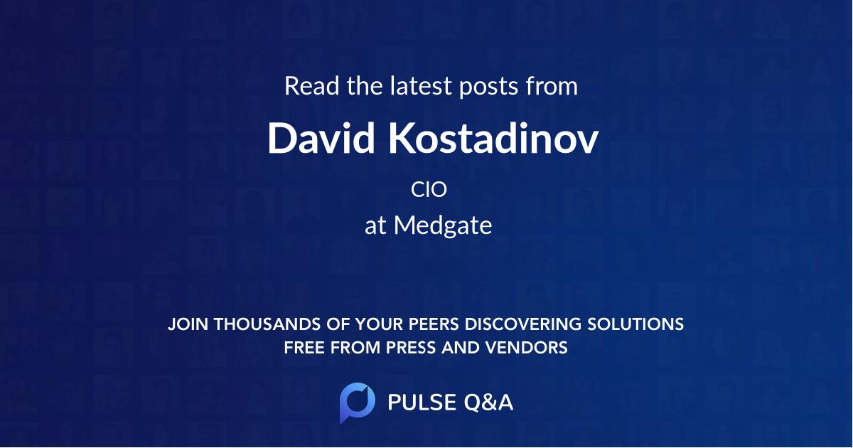 David Kostadinov
