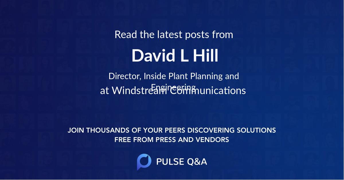 David L Hill