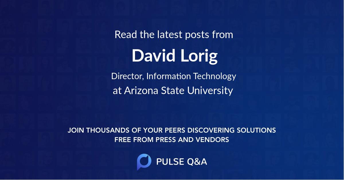David Lorig