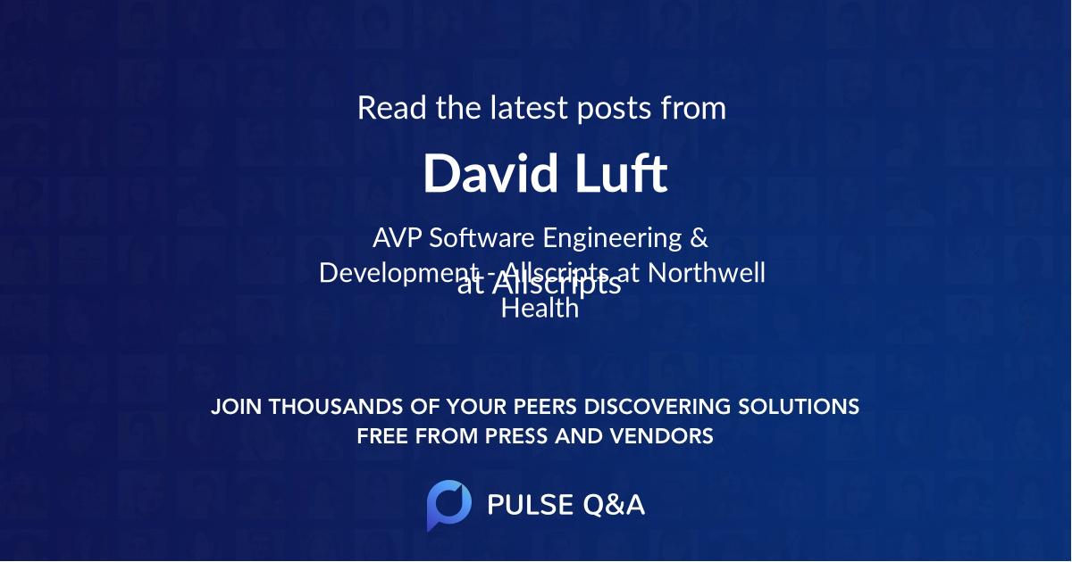 David Luft