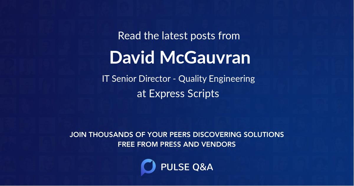 David McGauvran