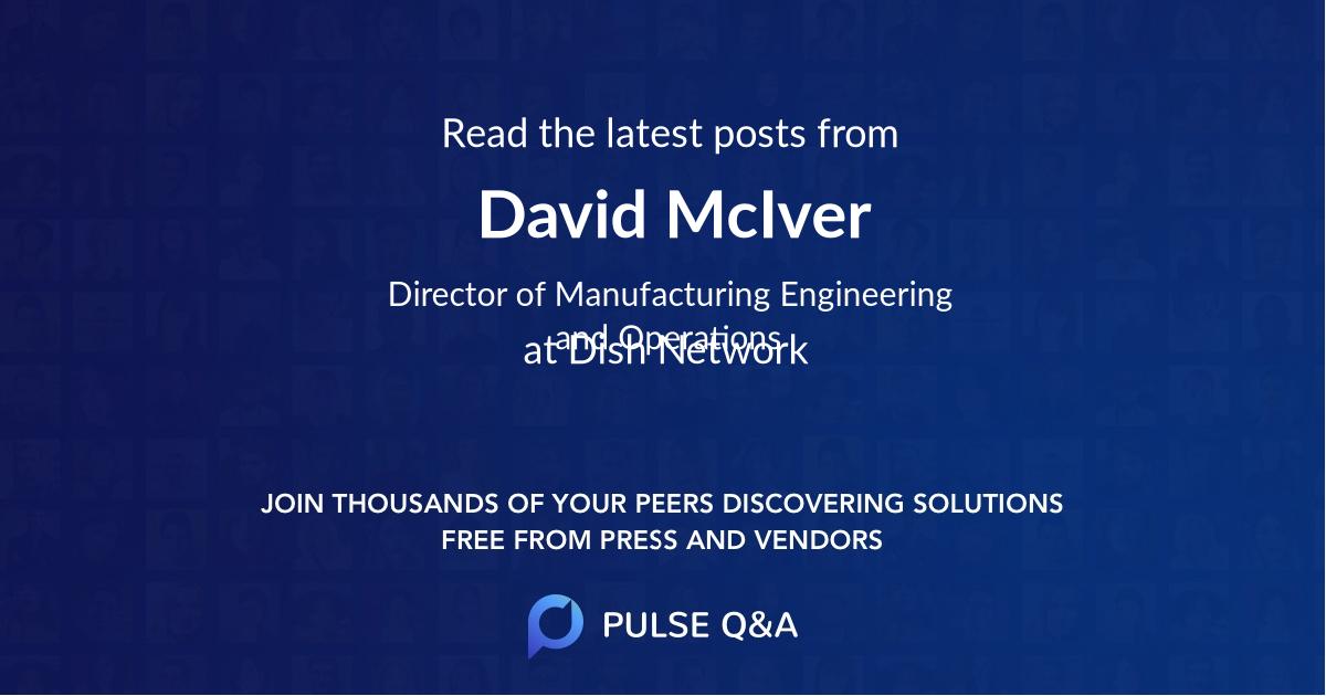 David McIver