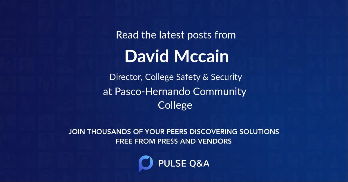 David Mccain