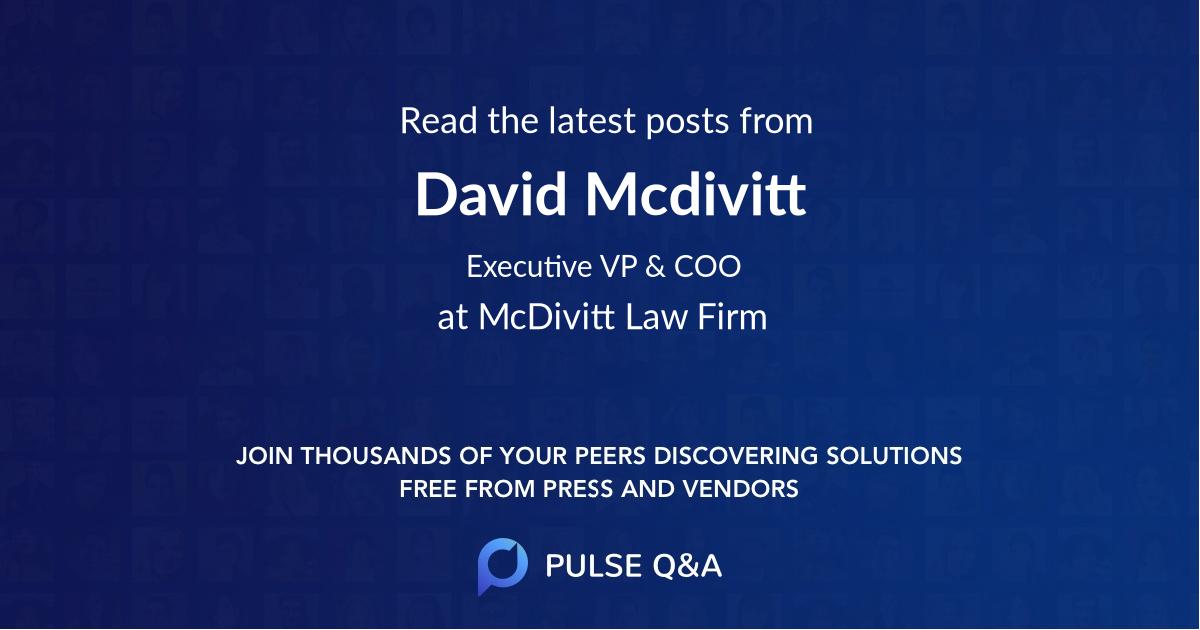 David Mcdivitt