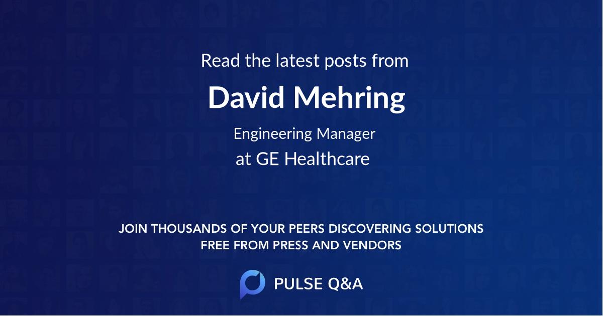 David Mehring