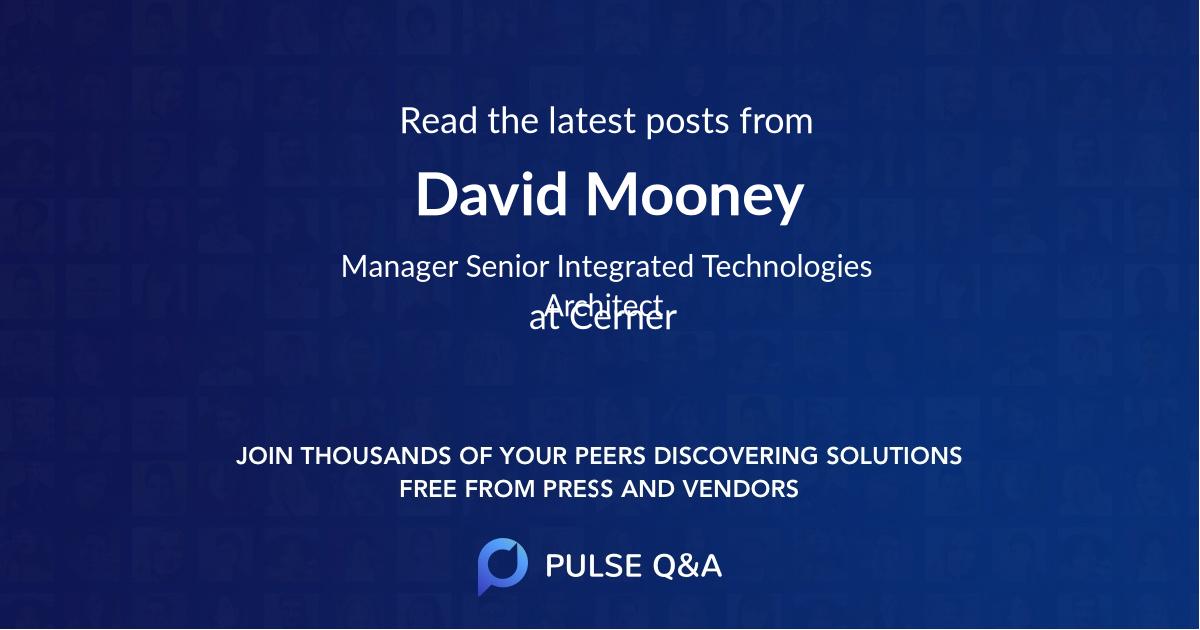David Mooney