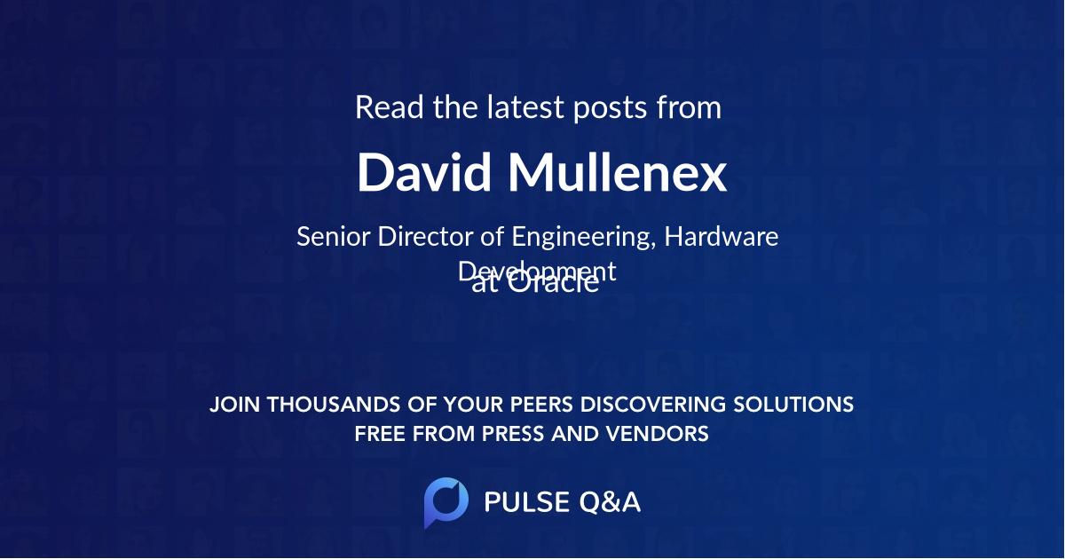 David Mullenex