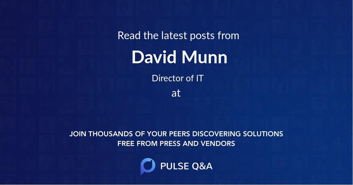 David Munn