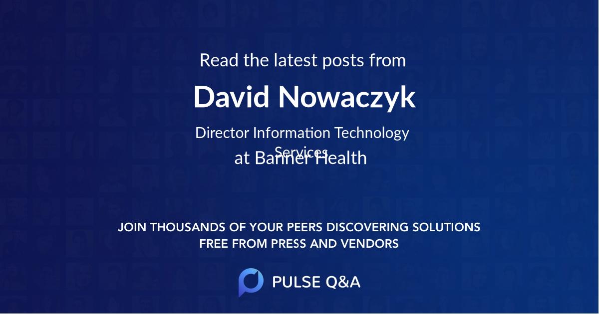 David Nowaczyk