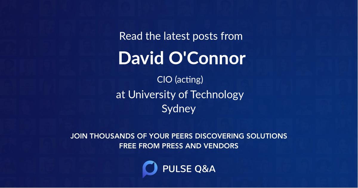 David O'Connor
