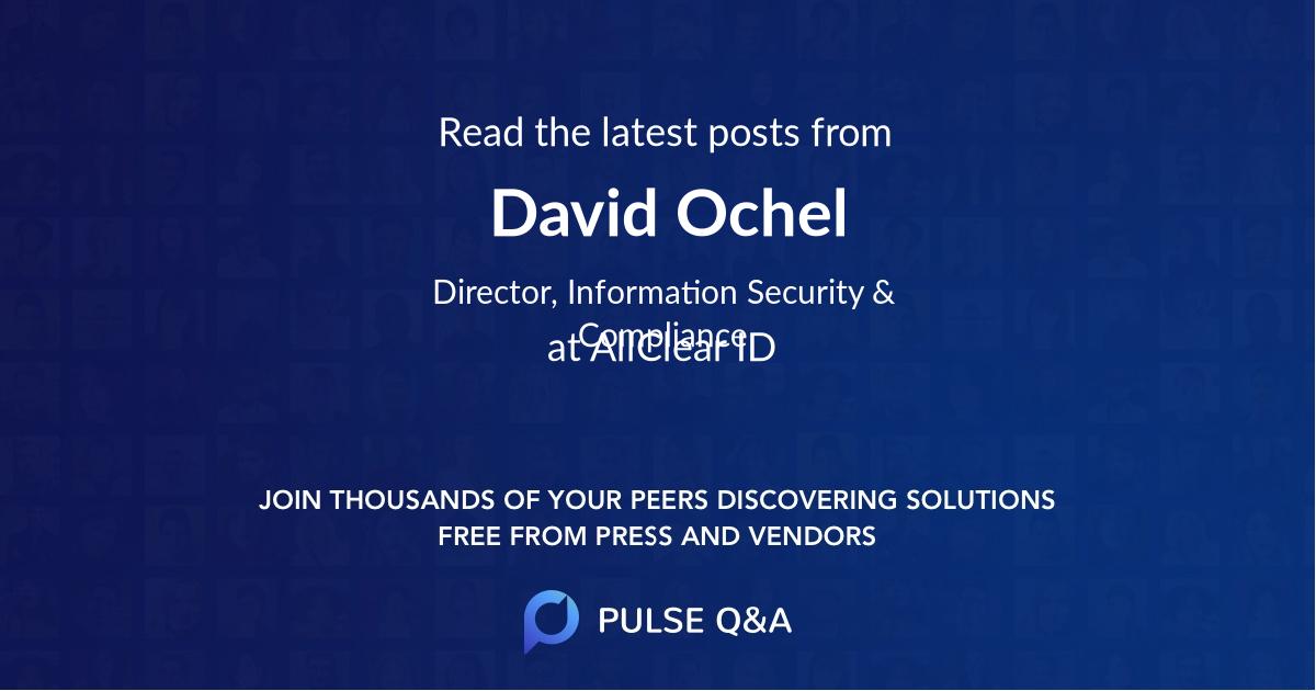 David Ochel