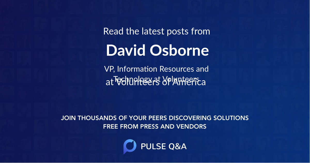 David Osborne