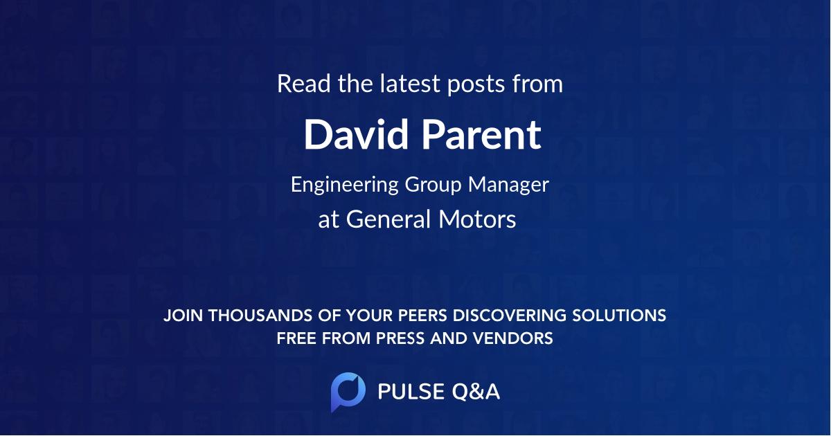 David Parent