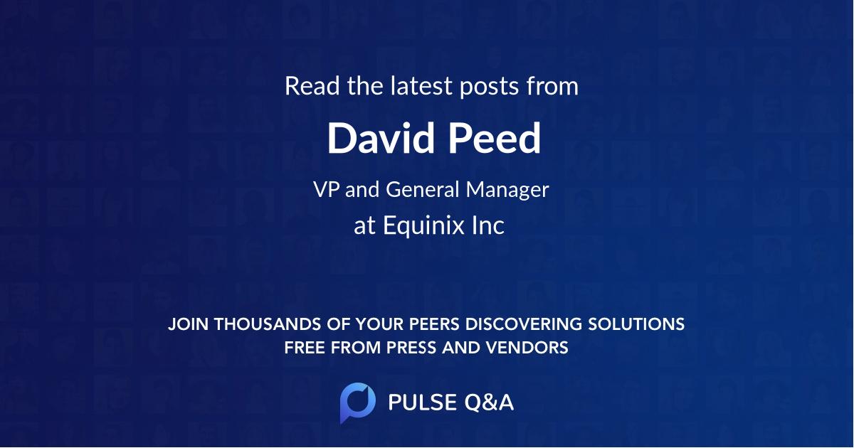 David Peed
