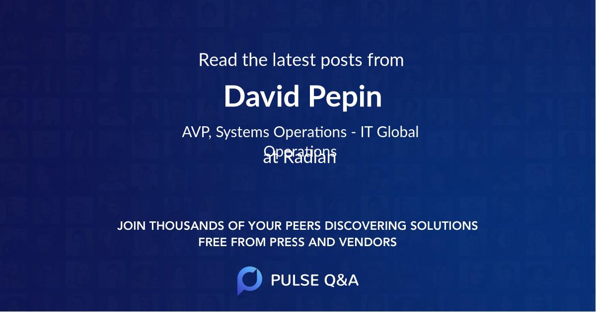 David Pepin