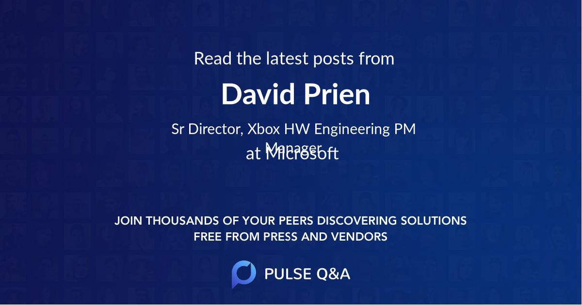 David Prien