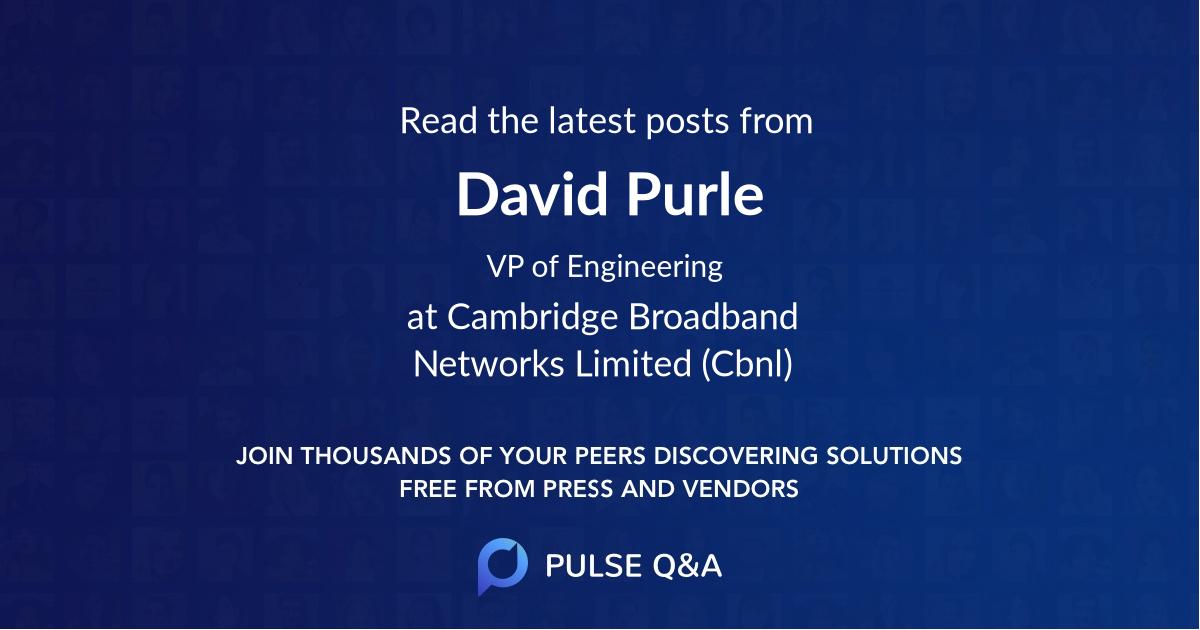 David Purle