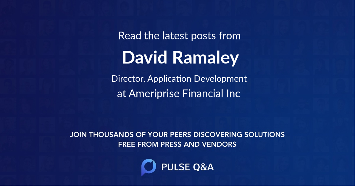 David Ramaley