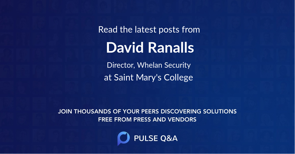 David Ranalls