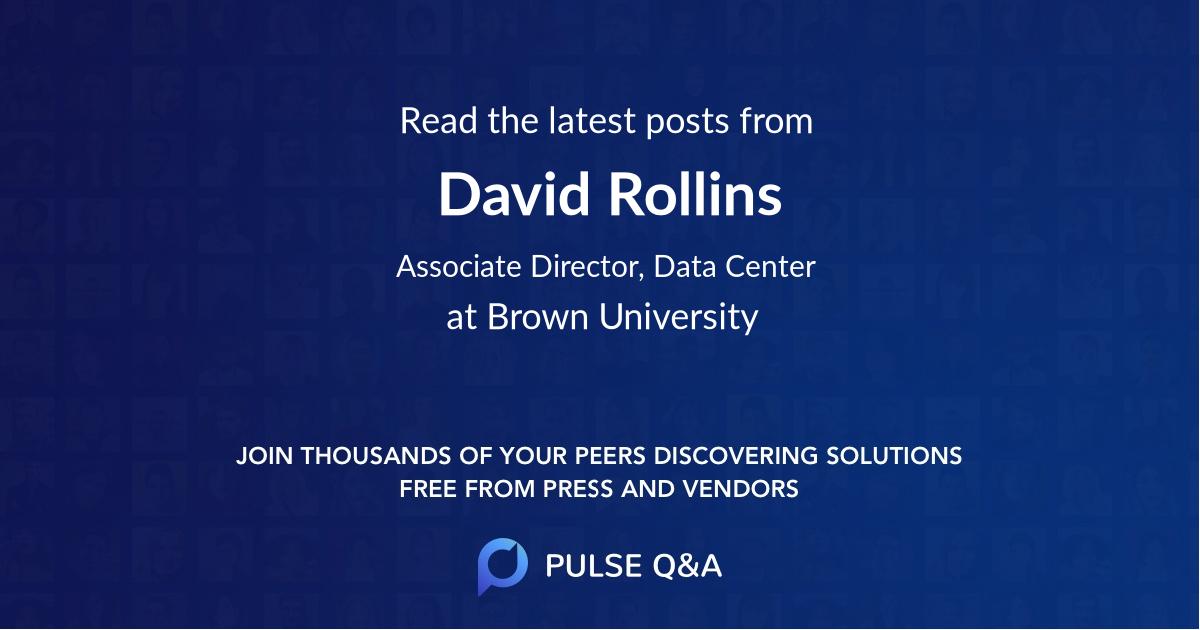 David Rollins