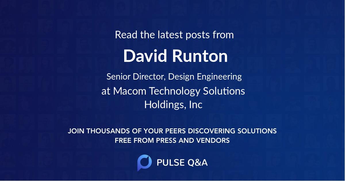 David Runton