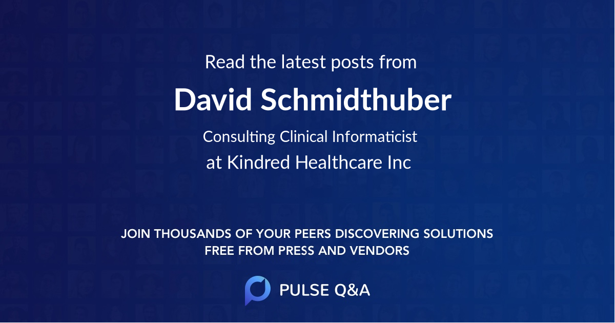 David Schmidthuber
